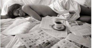 kafa u krevetu