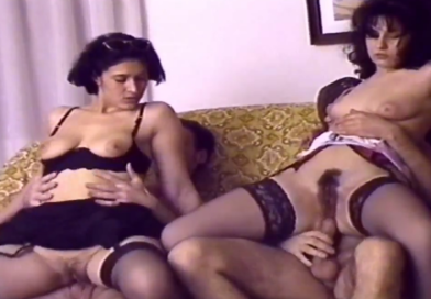 široki crni pornići