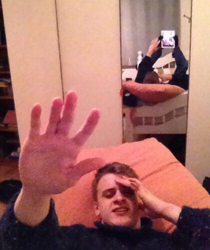namešteni selfi
