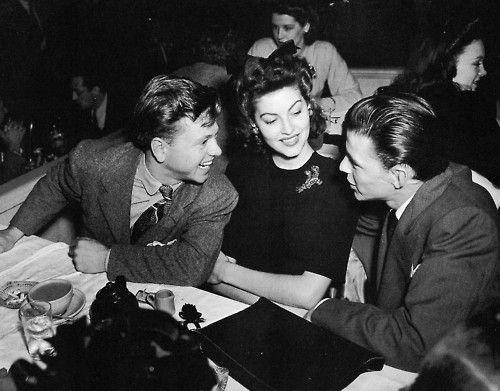 Miki Runi, Ava Gardner i Frenk Sinatra